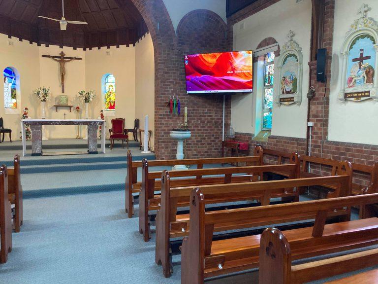 New Church Equipment